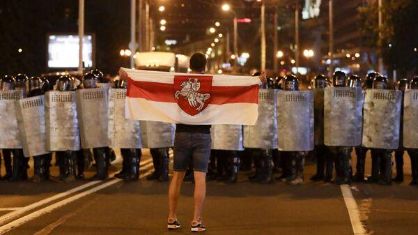 Акция протеста в Минске - Sputnik Česká republika