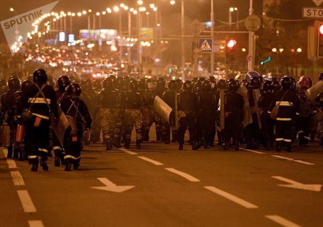Protesty v Minsku. Druhý den