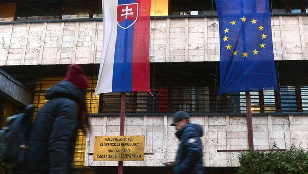 Velvyslanectví Slovenska v Moskvě. Ilustrační foto - Sputnik Česká republika