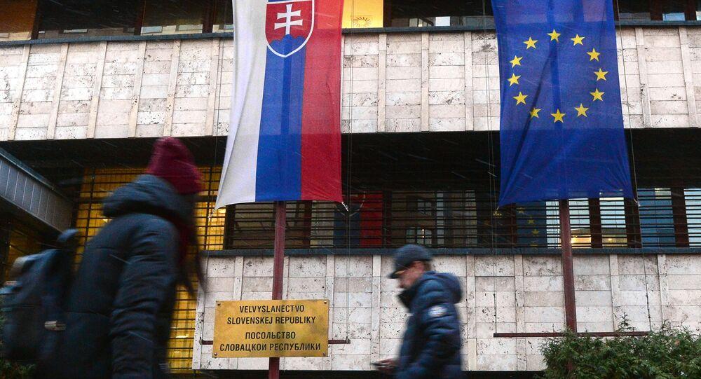 Velvyslanectví Slovenska v Moskvě. Ilustrační foto