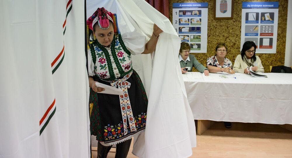 Volby v Maďarsku. Ilustrační foto