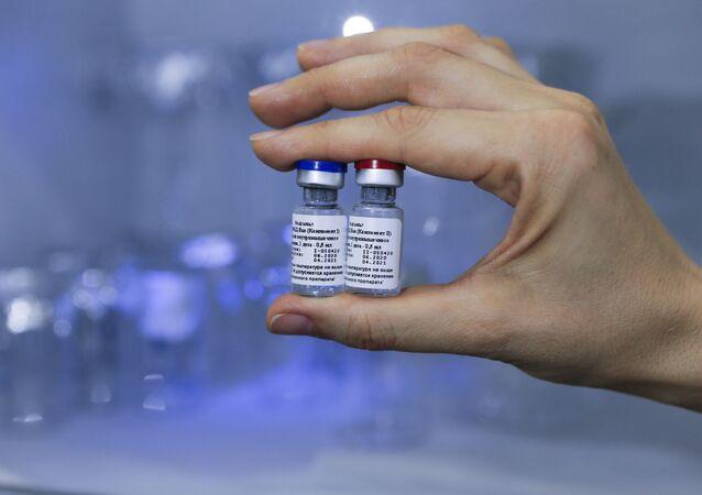 Ruská vakcína Sputnik V proti covidu-19