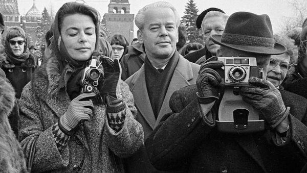 Turisté na moskevských ulicích: sovětská exotika a moderní tajemství - Sputnik Česká republika