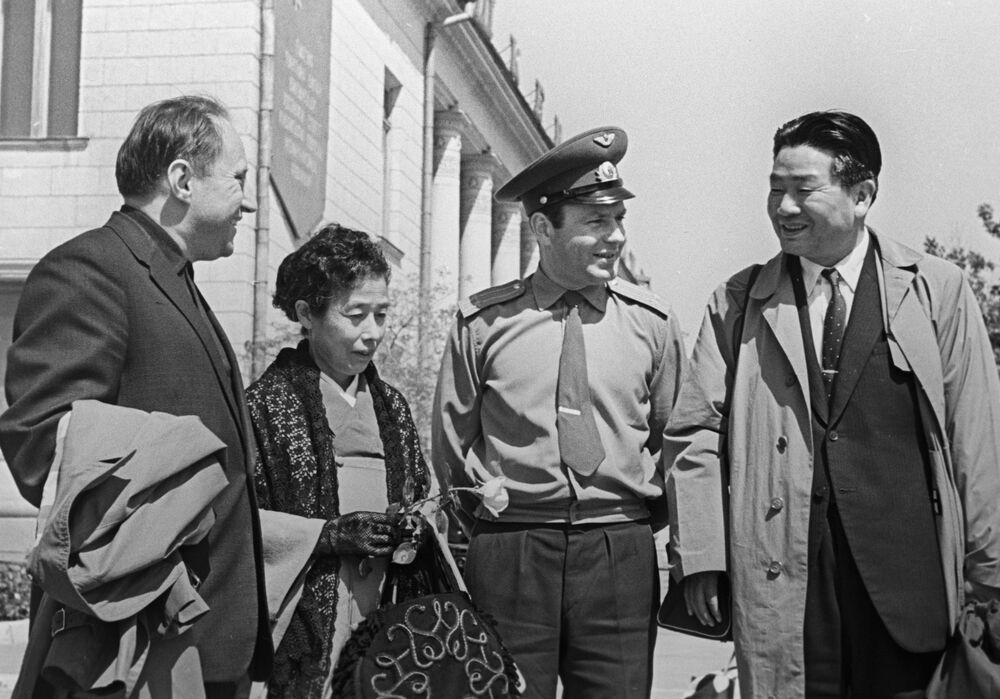 Japonští turisté, 1966.