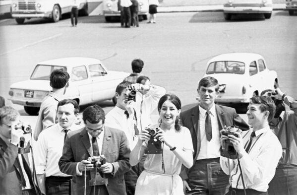 Cizinci v Moskvě, 1969. - Sputnik Česká republika