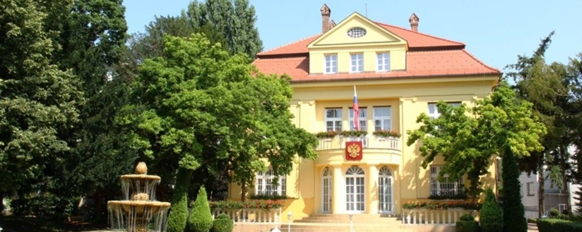 Ruské velvyslanectví v Bratislavě - Sputnik Česká republika, 1920, 21.05.2021