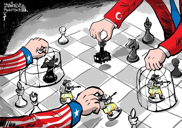 Turecko karikatura