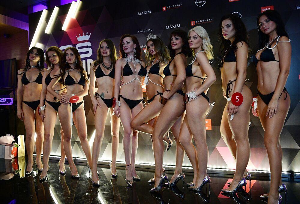 Finalistky soutěže krásy a sexuality Miss MAXIM 2020