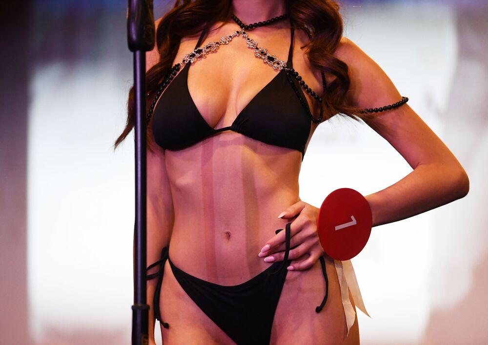 Finalistka soutěže krásy a sexuality Miss MAXIM 2020