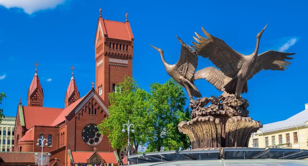 Náměstí nezávislosti v Minsku