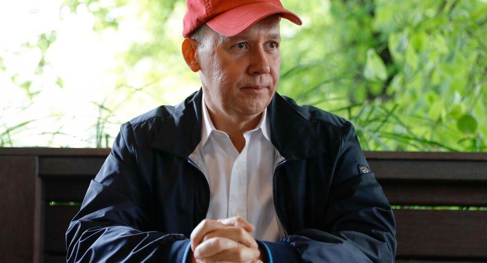 Bývalý běloruský prezidentský kandidát Valerij Cepkalo