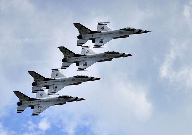 Americké stíhačky F-16