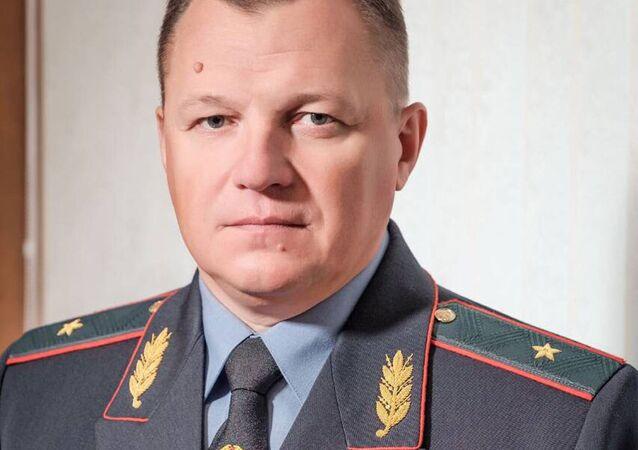 Vadim Siňavskij, náčelník Vnitřní správy ministerstva vnitra města Grodno
