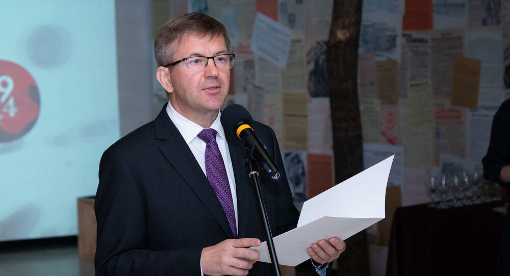 Bývalý běloruský velvyslanec na Slovensku Igor Leščeňa