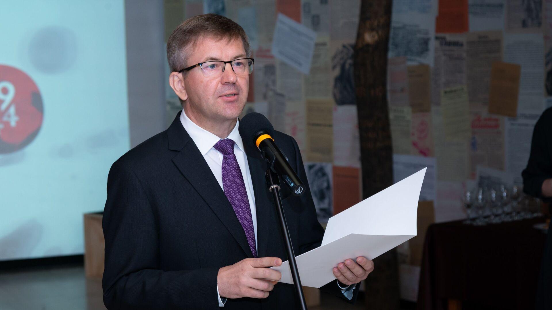 Bývalý běloruský velvyslanec na Slovensku Igor Leščeňa - Sputnik Česká republika, 1920, 12.08.2021