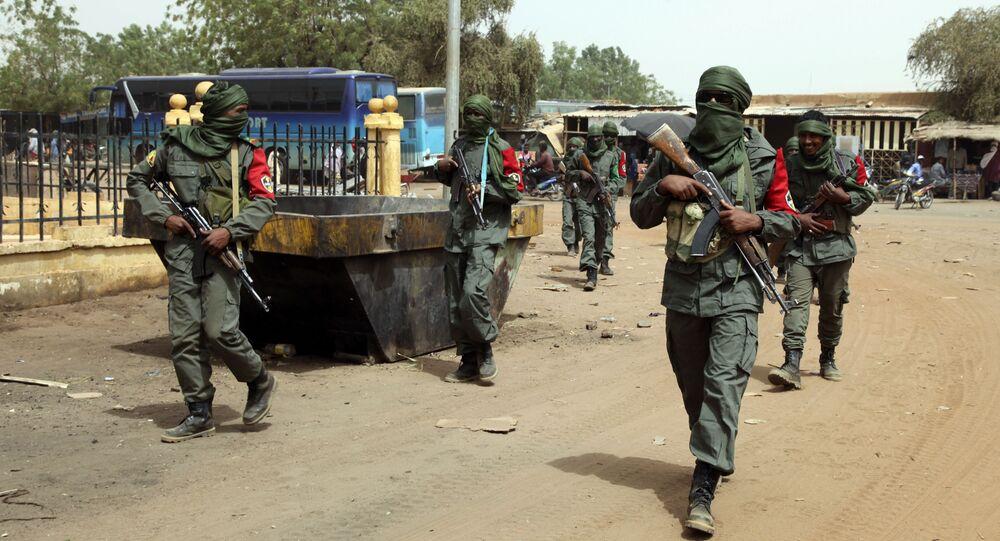 Vojáci v Mali