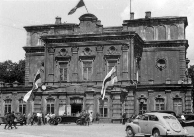 Minsk v době nacistické okupace