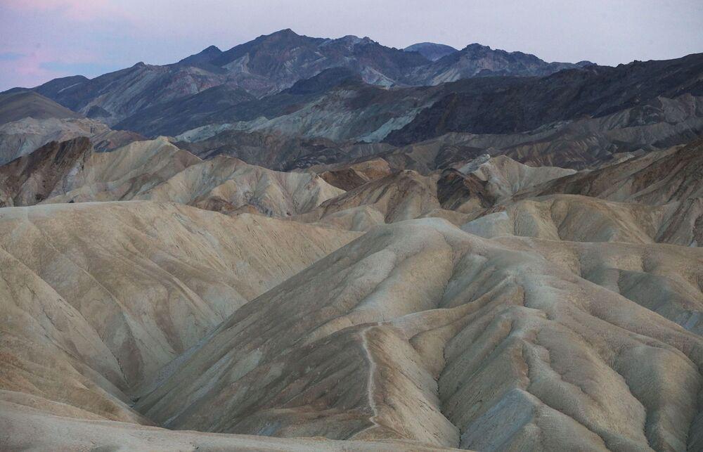 Národní park Údolí smrti, Kalifornie, USA.