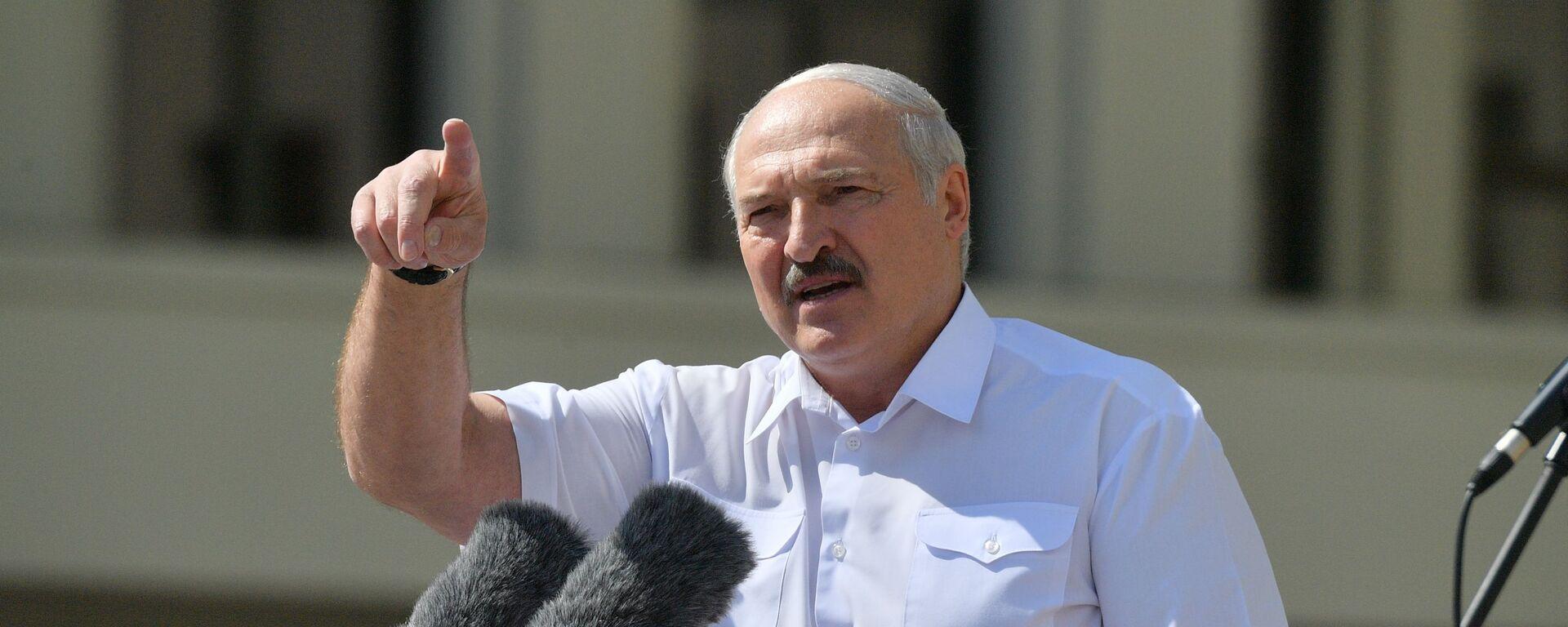 Alexandr Lukašenko - Sputnik Česká republika, 1920, 05.08.2021