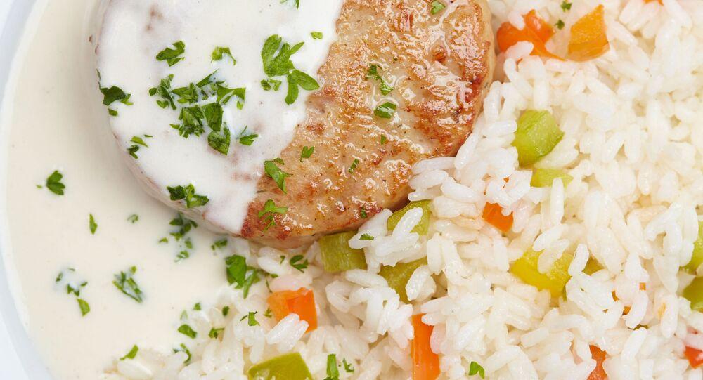 Rýže s karbanátky