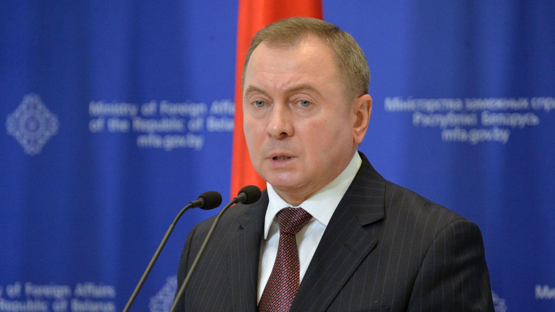 Běloruský ministr zahraničí Vladimir Makej - Sputnik Česká republika, 1920, 24.05.2021