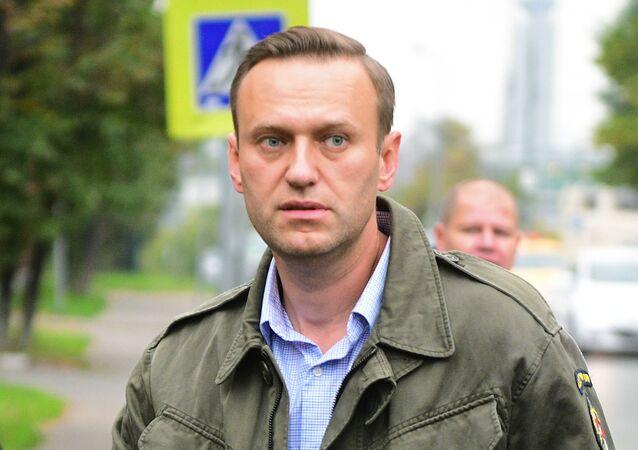 Ruský opoziční politik Alexej Navalnyj