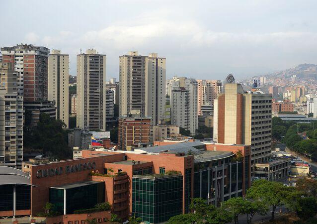 Pohled na Caracas