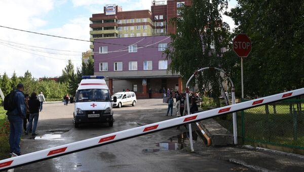 Pohotovostní nemocnice č. 1 v Omsku - Sputnik Česká republika