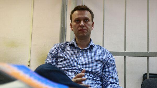 Ruský opoziční politik Alexej Navalnyj - Sputnik Česká republika