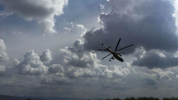 Vrtulník Mi-24. Ilustrační foto - Sputnik Česká republika