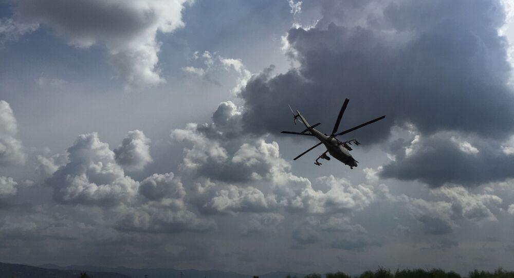 Vrtulník Mi-24. Ilustrační foto