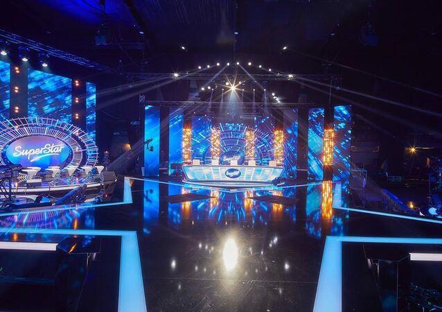 Scéna televizní show SuperStar