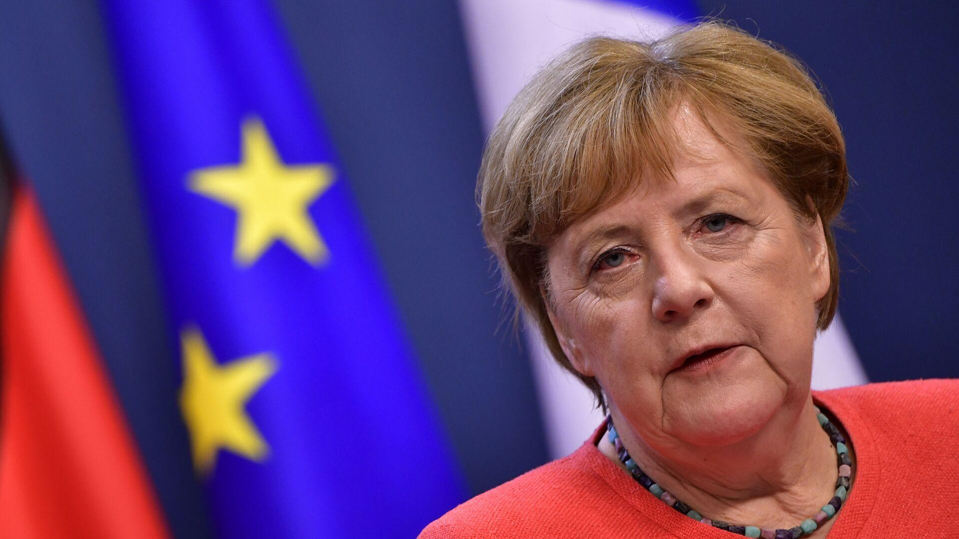 Německá kancléřka Angela Merkelová - Sputnik Česká republika, 1920, 25.05.2021