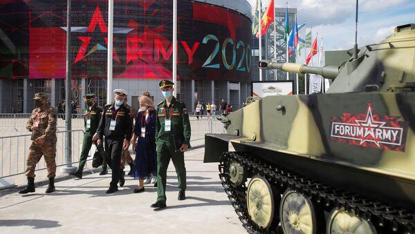 Mezinárodní vojensko-technický fór Armáda 2020 v parku Patriot - Sputnik Česká republika