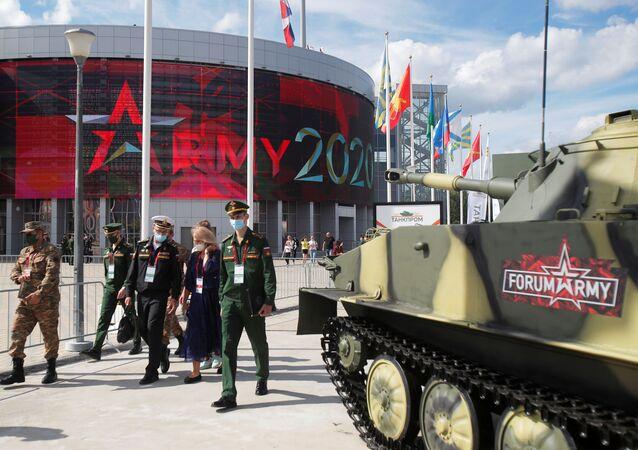 Mezinárodní vojensko-technický fór Armáda 2020 v parku Patriot