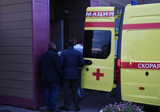 Přeprava Alexeje Navalného z Omsku