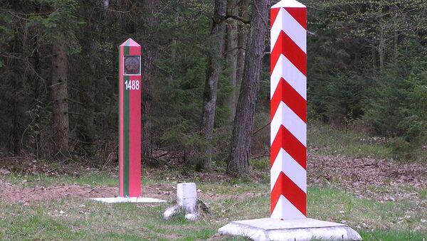 Hranice mezi Polskem a Běloruskem - Sputnik Česká republika