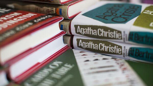Knihy Agathy Christie na výstavě v Torquay ve Velké Británii - Sputnik Česká republika