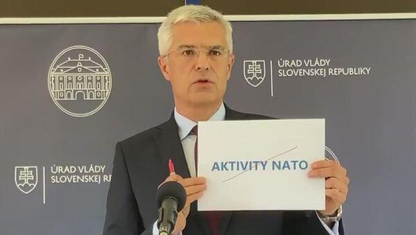 Slovenský ministr zahraničí Ivan Korčok - Sputnik Česká republika