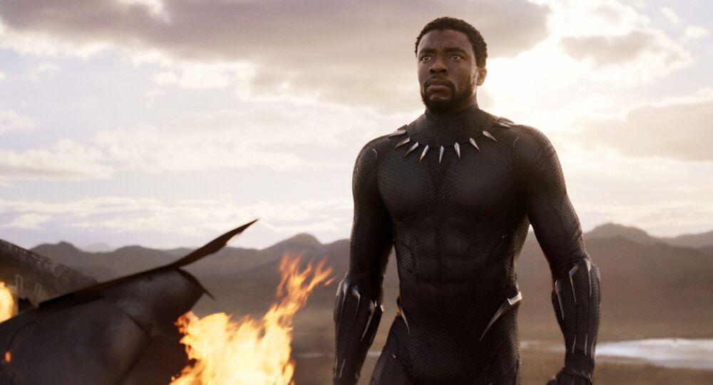 Hvězda filmu Marvel Black Panther Chadwick Boseman