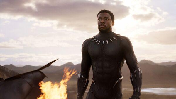 Hvězda filmu Marvel Black Panther Chadwick Boseman - Sputnik Česká republika