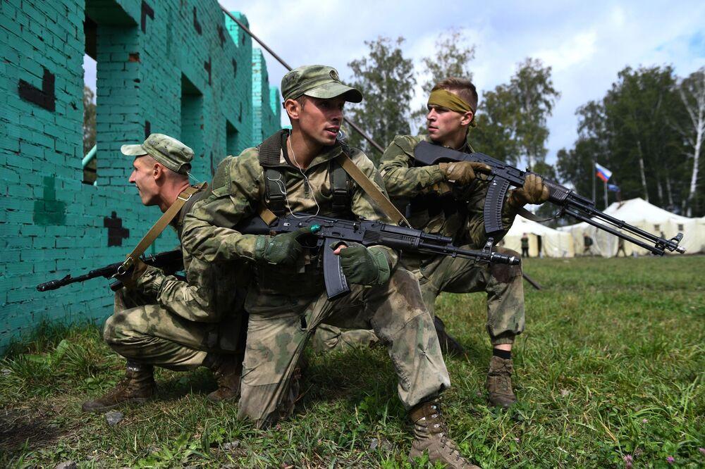Mezinárodní armádní hry začaly 23. srpna a potrvají do 5. září.