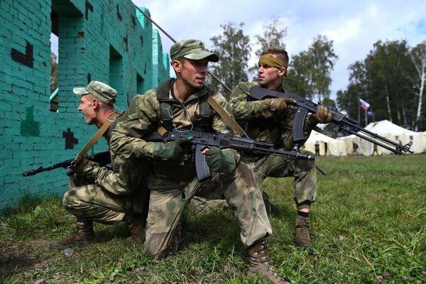Mezinárodní armádní hry začaly 23. srpna a potrvají do 5. září. - Sputnik Česká republika