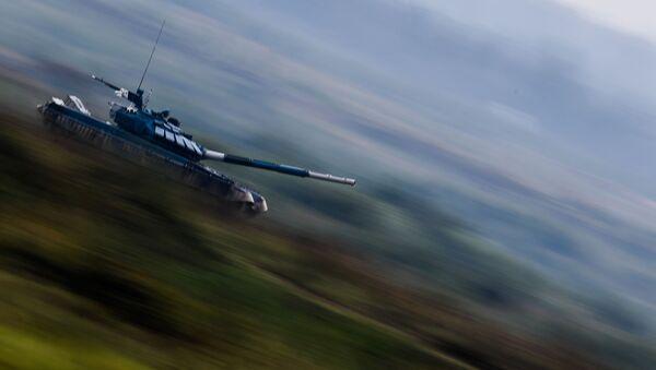 Tankový biatlon - Sputnik Česká republika