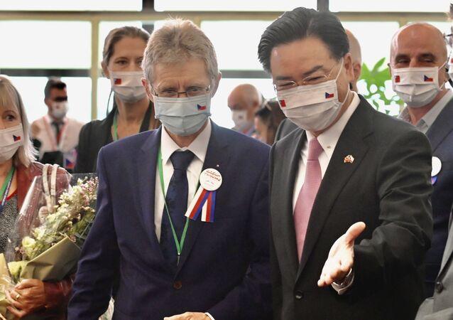Miloš Vystrčil na Tchaj-wanu