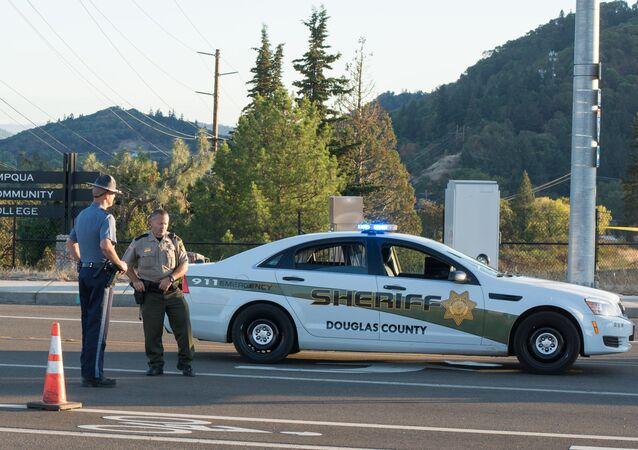 Američtí policisté. Ilustrační foto