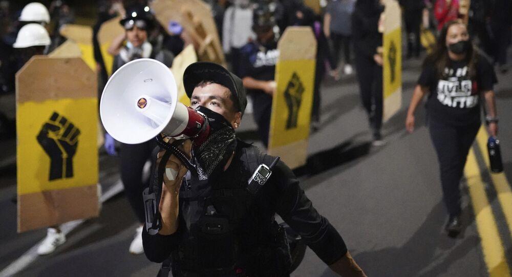 Protesty v Portlandu