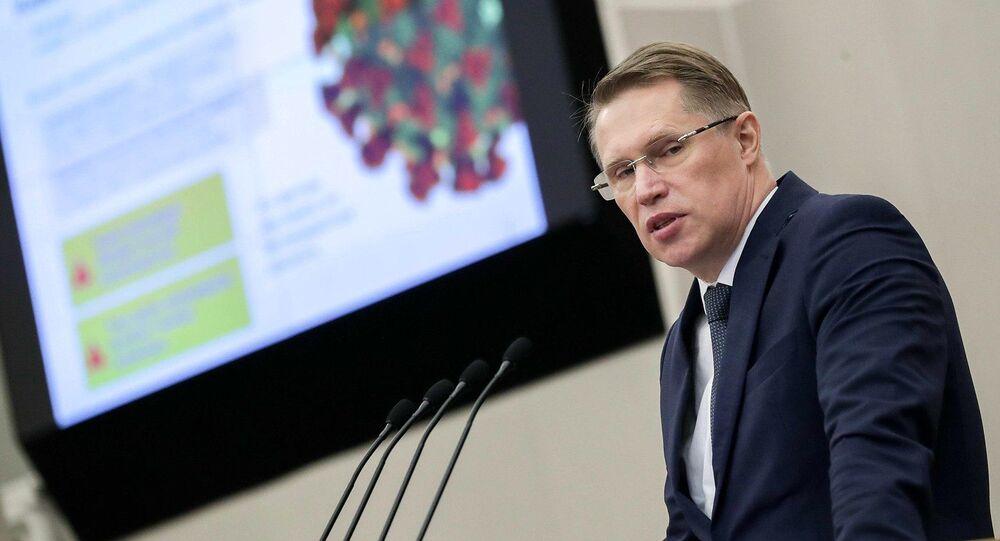 Ruský ministr zdravotnictví Michail Muraško