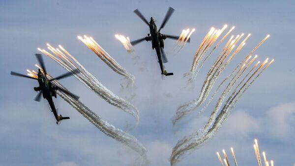 Vrtulníky Mi-28N - Sputnik Česká republika