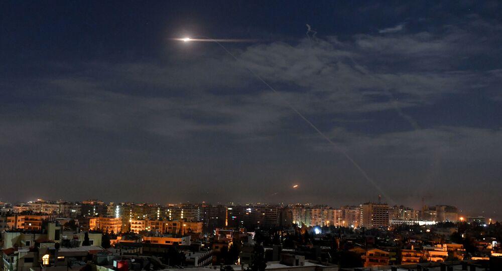 Syrská protivzdušná obrana v akci (ilustrační foto)